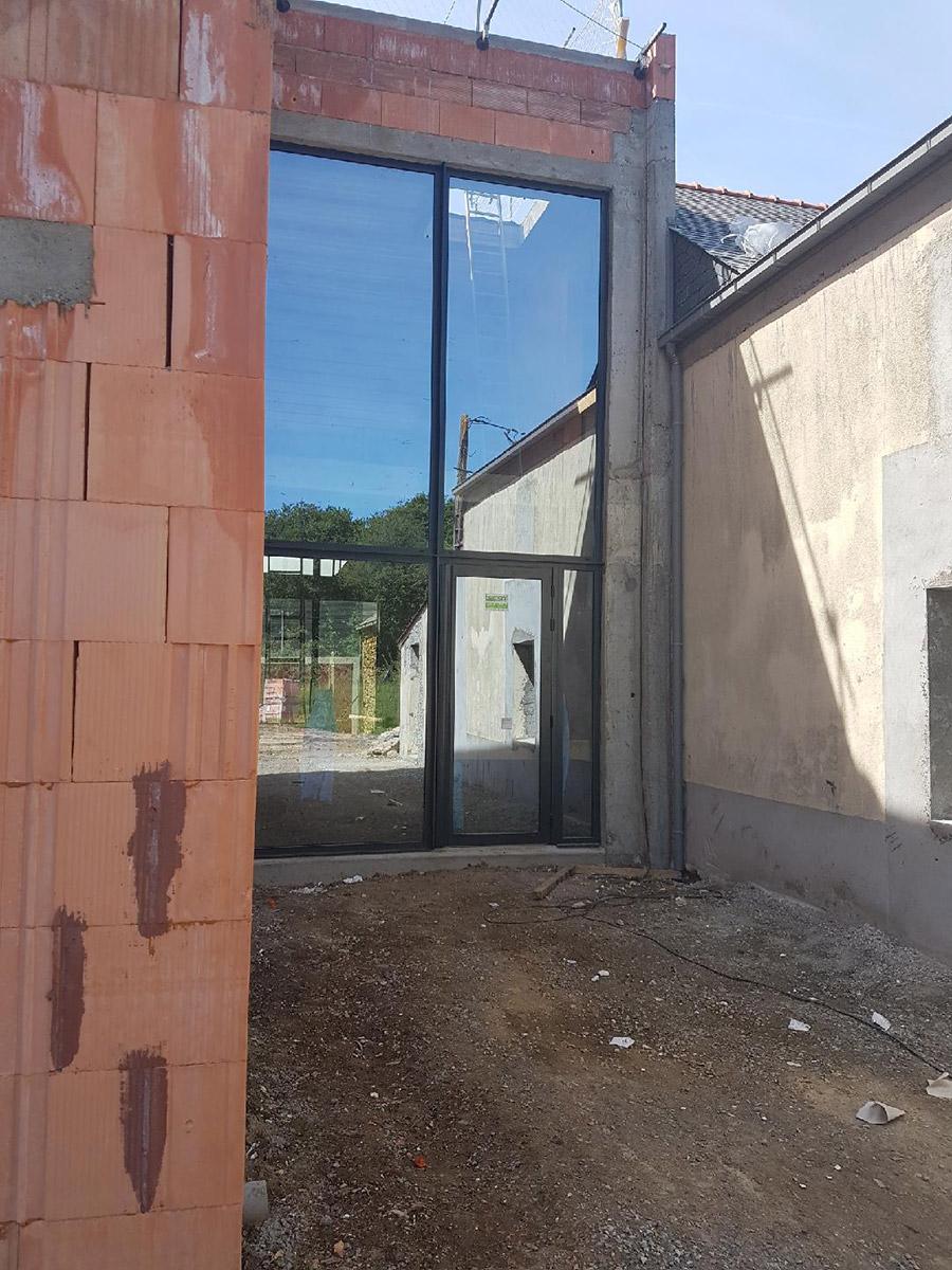Chauvé menuiseries tjs aluplast vitrine verriere 44