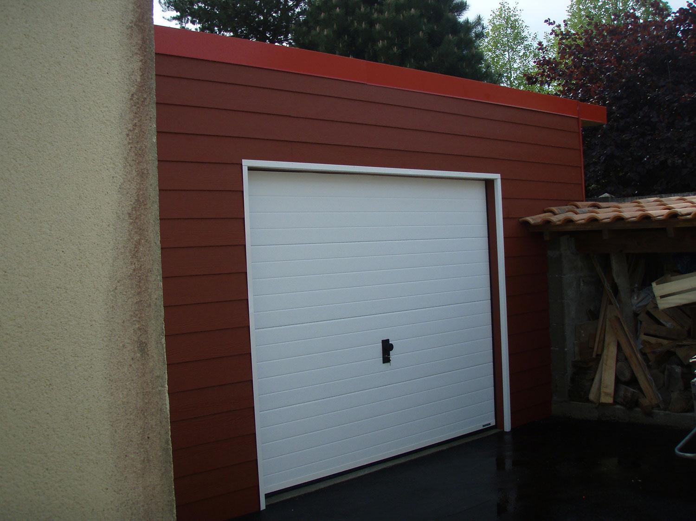 Porte de garage sectionnelle TJS Aluplast menuiseries 44