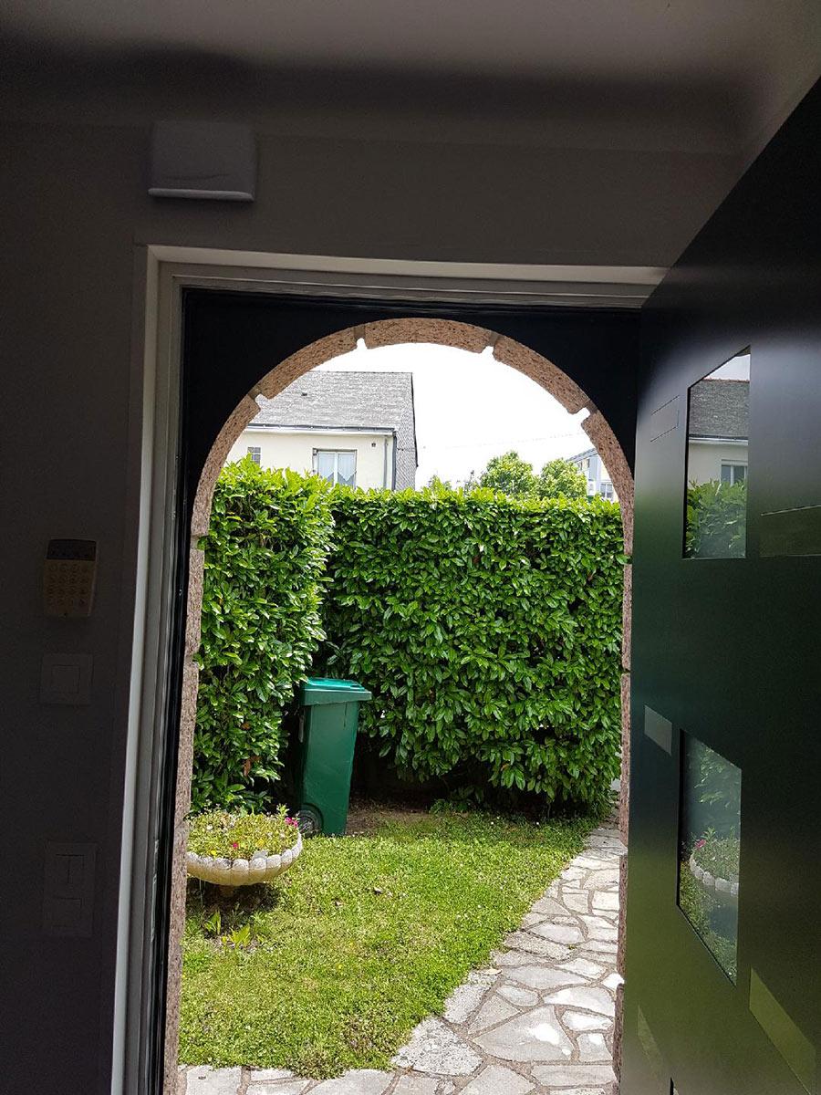 portes d'entrée St Leger les vignes TJS Aluplast menuiseries 44830