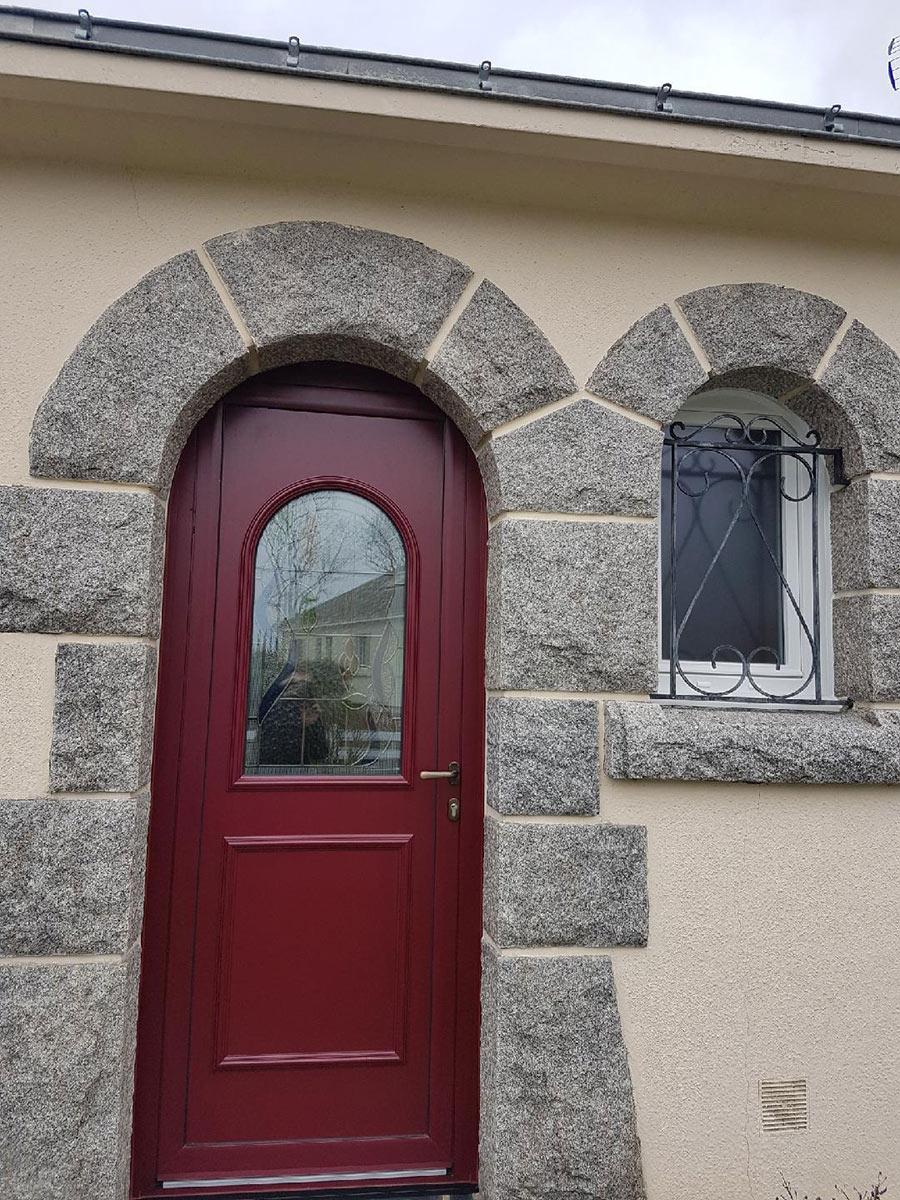 St Leger les vignes menuiseries TJS Aluplast portes d'entrée 44830