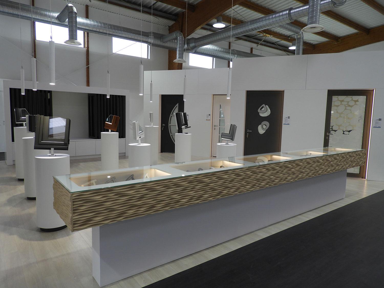TJS Aluplast partenaire Batistyl Habitat Showroom Agence Treillières