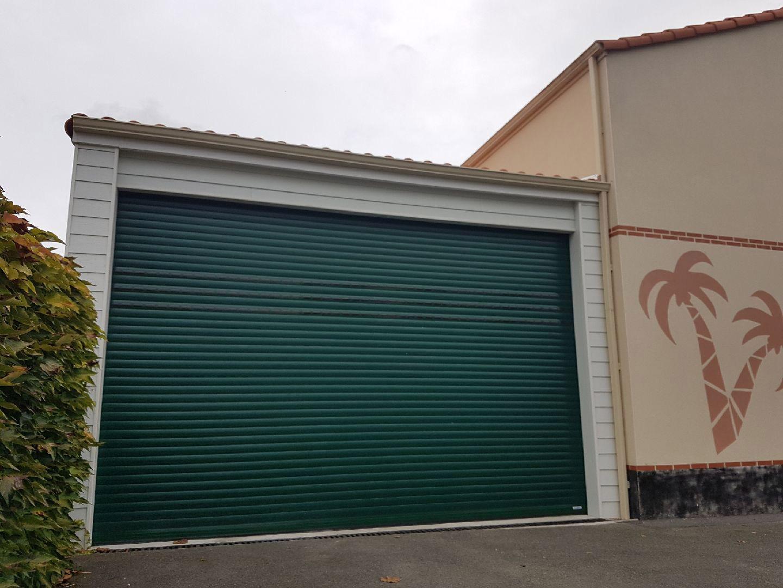 TJS Aluplast portes de garage St hilaire de chaleons 44